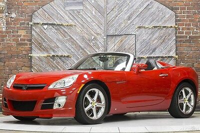 2007 Saturn Sky Base Convertible 2-Door 07 GM Cold Air Intake Premium Pkg Monsoon Stereo Limited Slip Polished Wheels