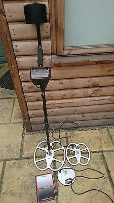 Detech EDS Reacher Gold & Metal Detector Pro Pack with 3 coils at 28khz
