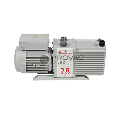 Edwards E2M28 Rotary Vane Pump, Rebuilt By Provac Sales, Inc.