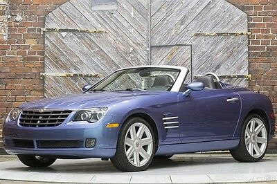 2005 Chrysler Crossfire Roadster Limited 05 6-speed manual 2-tone leather We Take Trades