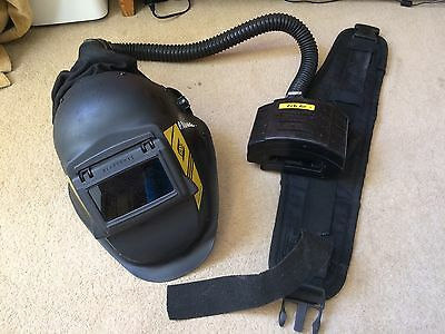ESAB Albatross Air Fed Welding Helmet Mask Pre-owned