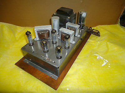 Vintage  Rca  Tube  Amplifier  Shc-670  3  Channel  Stereo