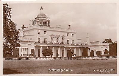 Stoke Poges Club, Country House, Buckinghamshire, Rp, Circa 1920
