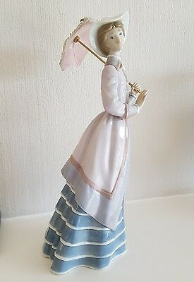 various porcelain figurine, Lladro and A Santini collectors models