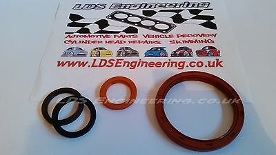 Ford Zetec E Silvertop / Blacktop 1.6 1.8 2.0 16v engine oil seal set