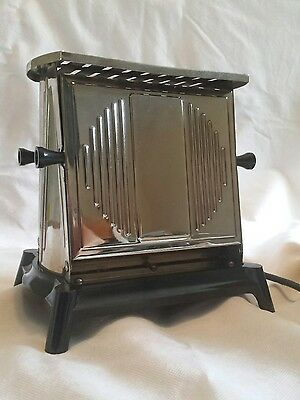 "Rare Art Deco ""ORMOND"" 1930s Electric Toaster in Box Working order!"
