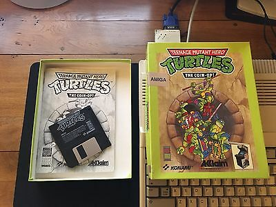 Teenage Mutant Hero Turtles The Coin Op! For Commodore Amiga