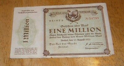 1 million mark 1923 vg freital
