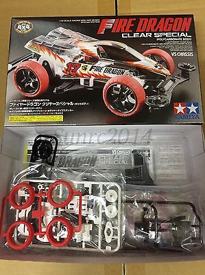 Tamiya 95337 1/32 Mini 4WD Fire Dragon Clear Sp. - VS Chassis Polycarbonate