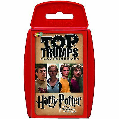 Top Trumps - Harry Potter and The Goblet of Fire Card Game