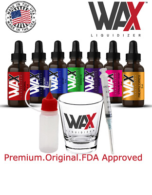 Wax Liquidizer - Herbal Vape Juice Concentrate E Juice Shatter Extract Bho Rosin