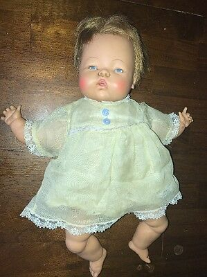 """Tiny Thumbelina 14"""" Doll Ideal In Original Clothes 1960's"""