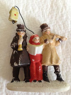 Antique Bisque German Snow Baby Group Of Christmas Carolers