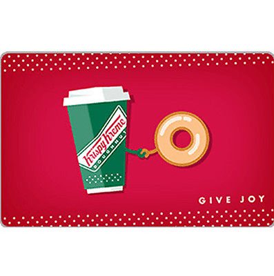 Buy a $25 Krispy Kreme Doughnut Corporation Gift Card for $20 - Email Delivery