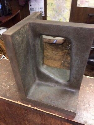 Right angle squaring block (machinist) 5 3/4X6X8