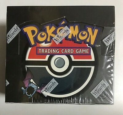 1st Edition Team Rocket Booster Box, Sealed Pokemon. 36 Packs. WOTC