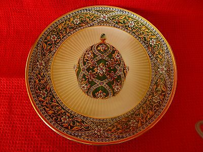House Of Faberge Garden Of Jewels Imperial Plate
