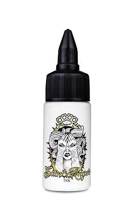 SAINT ANGER INK - Optical White 30 ml -tattoo ink- inchiostro colore tattoo -