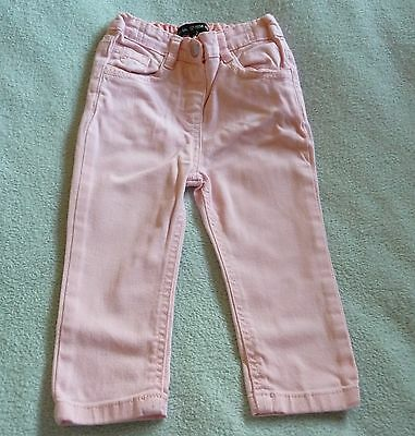 ** Pretty Baby Girl Pink Trousers - Denim Co (12 - 18 months) **