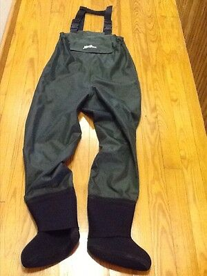 L.L. BEAN Chest Fishing Waders Women's S Youth XL Neoprene Stocking Foot Excell