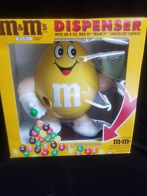 M&M's Yellow Candy Dispenser (NEW IN BOX) no candy included