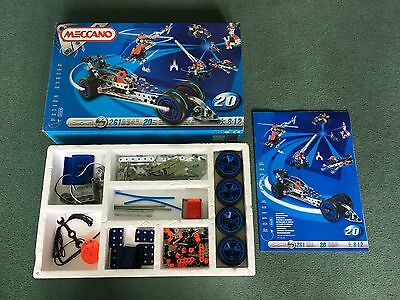 Meccano 20 Model Set