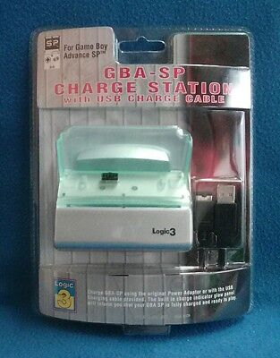 Stazione Di Ricarica Gba Sp Charge Station For Game Boy Advance Sp Logig3 Sealed