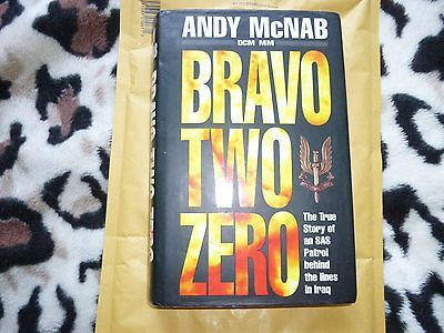 Bravo Two Zero by Andy McNab  ,(hard back, Signed copy, 1993)