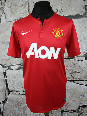 NIKE Manchester United Football Shirt 2012/2013 Home _ SIZE L_ (579)