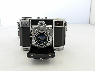 Zeiss Contessa 35 35Mm Film Folding Rangefinder Camera Opton Tessar Lens