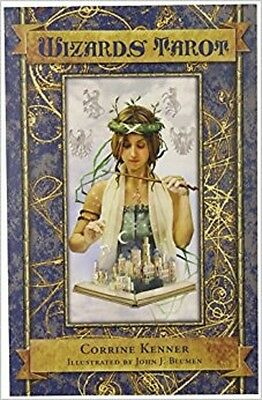 The Wizard's Tarot Deck And Booklet - New