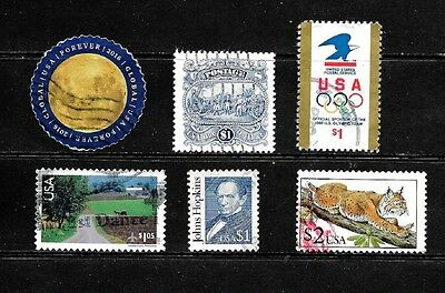 United States.  .a Splendid Collection Of High Face Value Stamps  .80292