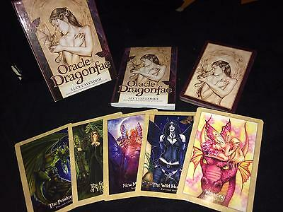 Oracle Of Dragonfae Card Set With Book. Large Highly Detailed Cards.