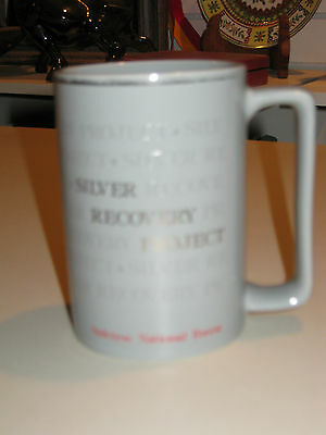 Silver Fire Recovery Project Mug, Siskiyou National Forest, 1987-88, Oregon