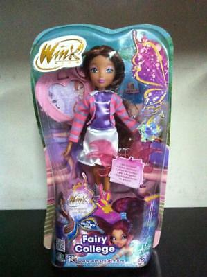 "Winx The Mistery of the Abyss - Fairy College 11"" AISHA / LAYLA Doll MIB, 2014"