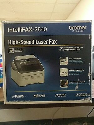 Brother Intellifax 2840 High-Speed Laser Fax