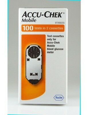 Accu-Chek Mobile Test Strips Accuchek Accuchek 100 Test Strips