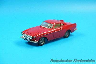 DINKY Toys - Volvo 1800 S  - rot  - 116  Made in England (G931)