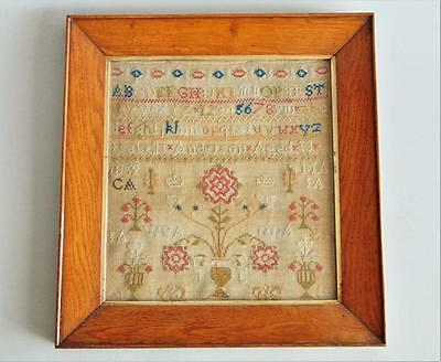 Early 19th Century Sampler Isabella Anderson Aged 13