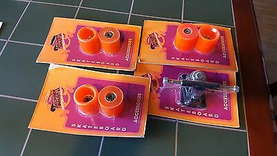 Vintage New Old Stock Skateboard Wheels And Truck