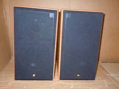 Kef Cresta 2 Great Speakers With Manual-Superb Sound.