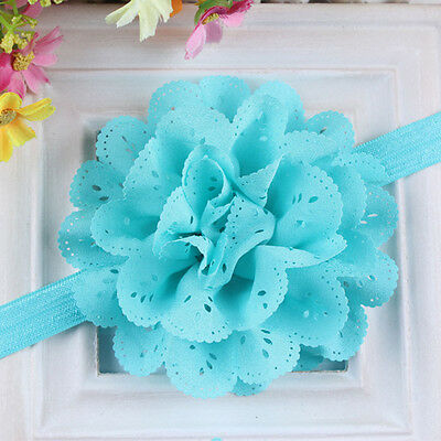 Lovely Baby girl Lace Flower Headband Hair Band Headwear Toddler Accessories