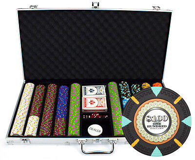 NEW 750 PC The Mint 13.5 Gram Clay Poker Chips Set Aluminum Case Pick Your Chips