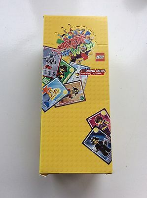 Sainsbury's Lego Create The World Full Box of 300 Packs of 4 Cards FOR CHARITY