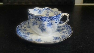 antique William Alsager cup and saucer