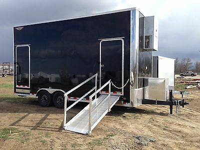 2016 20' H&H Temperature Controlled Trailer with Full HVAC