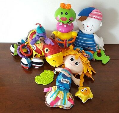 Baby Toy Bundle Lamaze Toys & Highchair Suction Toy - Baby Activity Toy