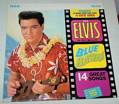 Elvis Presley Blue Hawaii USA Orange Label Pressing