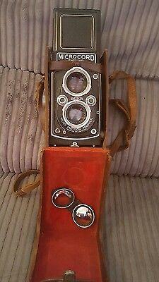 Vintage Microcord TLR Camera f/3.5 lens