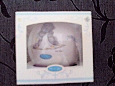 NEW & BOXED, Me To You Tatty Teddy Money Box Christening Gift, FREE P&P.